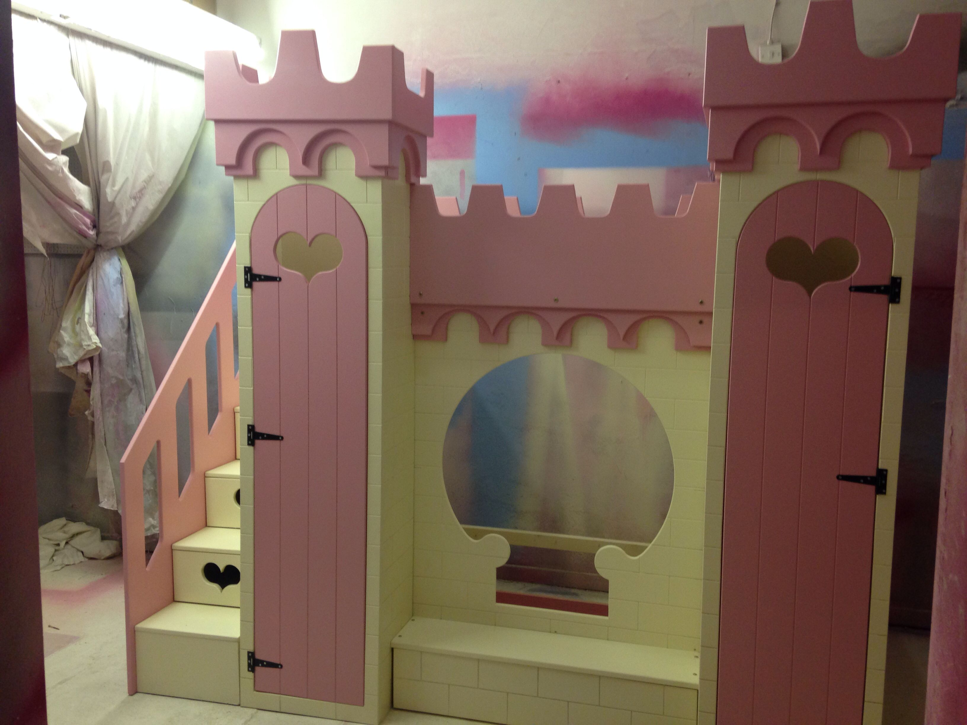 Castle bed princess castle bed bunk bed by