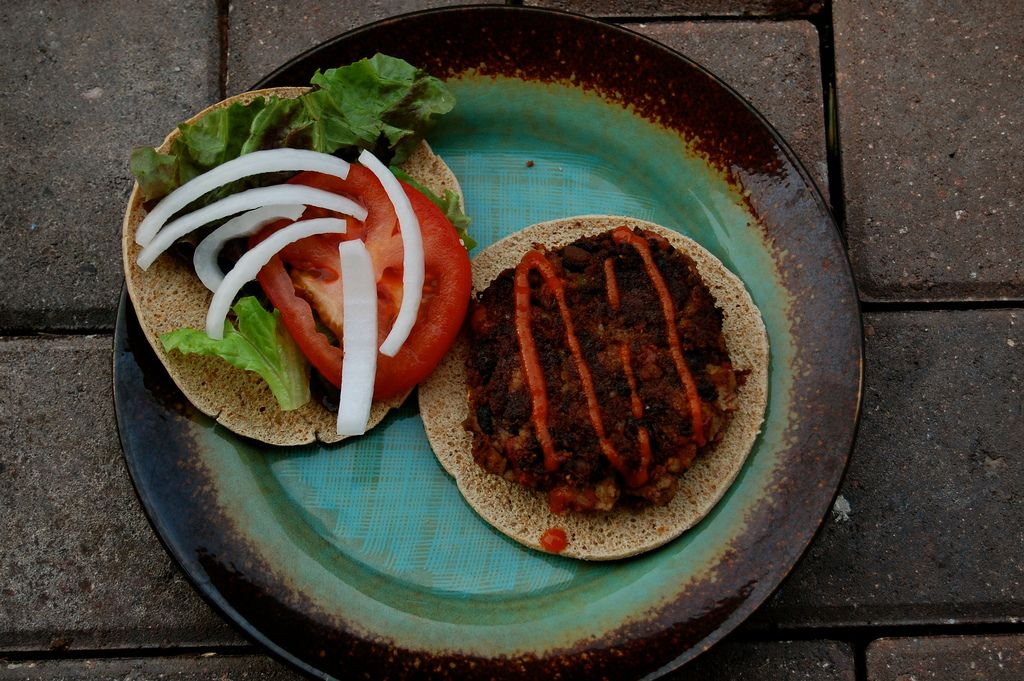 she says hubby approved meatless burgers?  Sign me up!