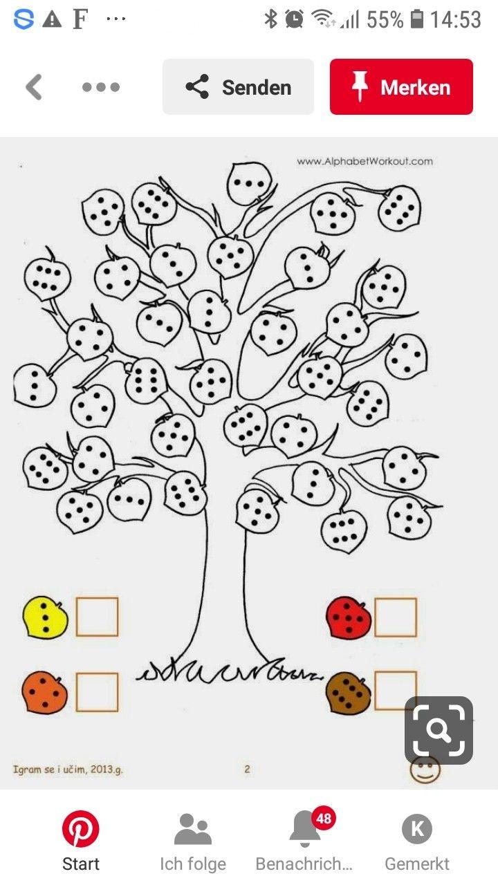 Pin Von Jaana Ahtela Auf Vsk Mathe Vorschulrechnen Vorschulideen Arbeitsblatt Fur Kinder Im Vorschulalter