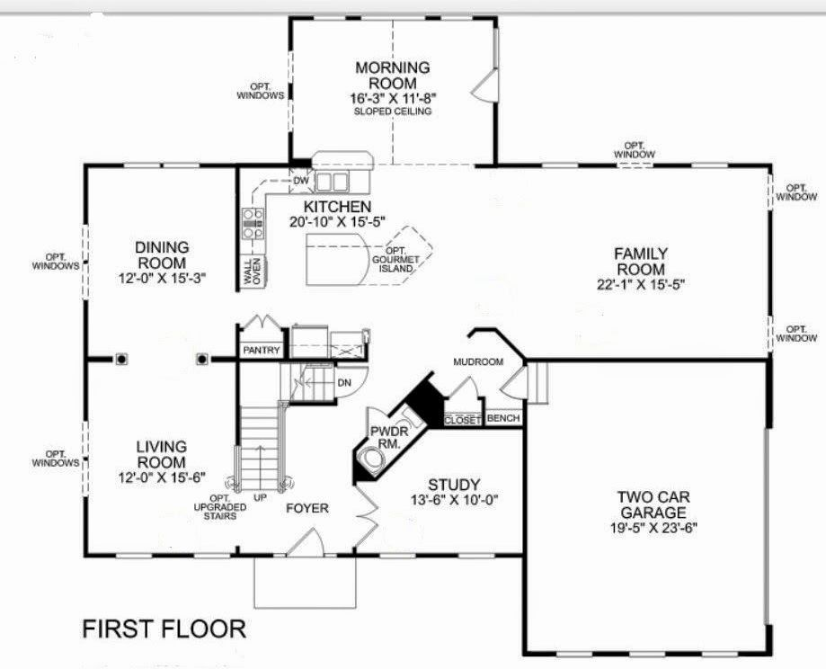Homes Zachary 2nd Floor Plan Free Wiring House Floor Plans Floor Plans Ryan Homes