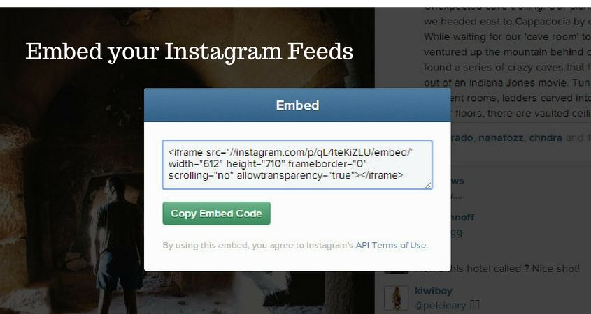 Get More Visibility for Instagram Feeds by Embedding