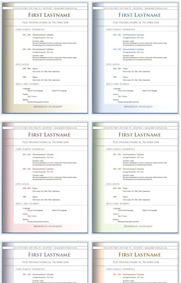 50 Free Microsoft Word Resume Templates for Download Microsoft - resume template for microsoft word