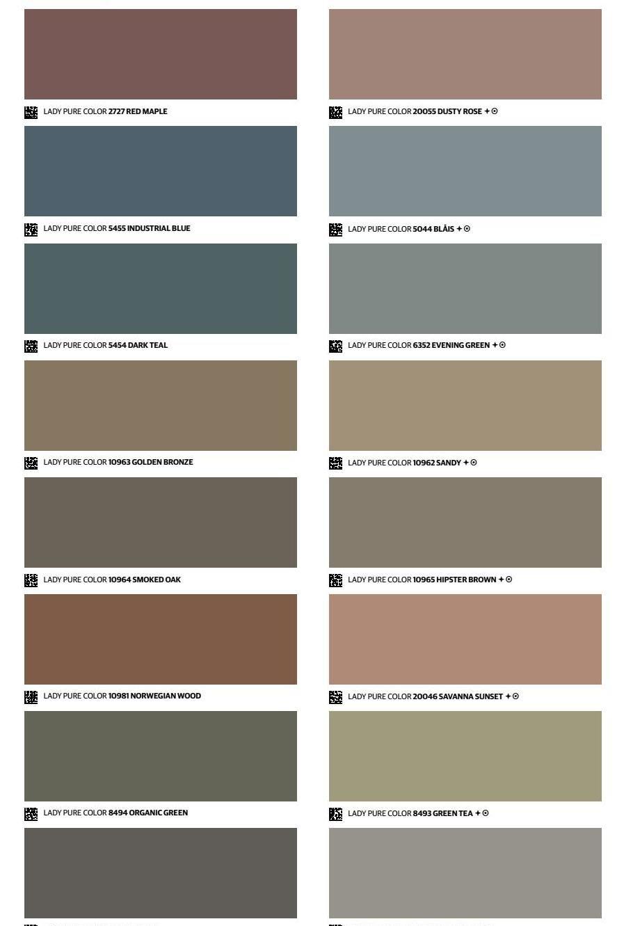 86d044a81 Jotun LADY - Det nye fargekartet 2018 | krāsas | Soverom jotun, Stue ...