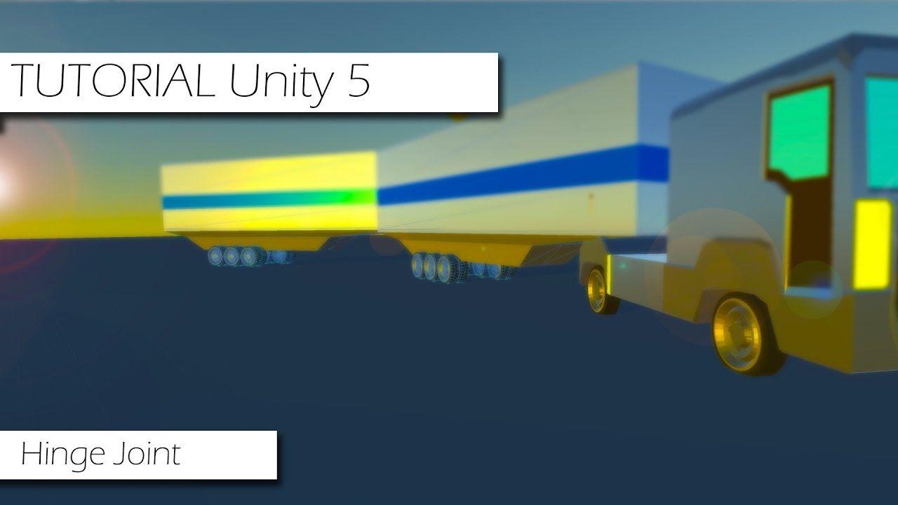 Unity 5 - Hinge Joint - Configuração Básica e Fazendo uma