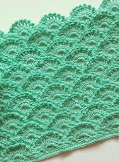 Free Easy Crochet Pattern Scaly Fish Stitch Technique Crochet