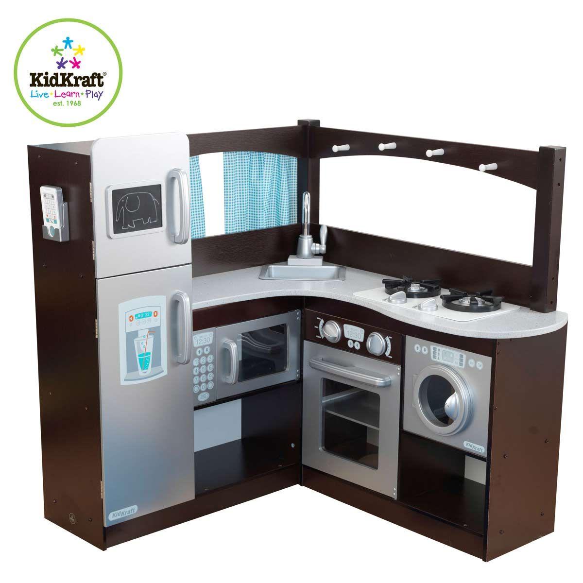 Kidkraft 53302 cucina espresso ad angolo da papers dreams a 229 90 giocattoli di papers - Macchina per cucinare ...
