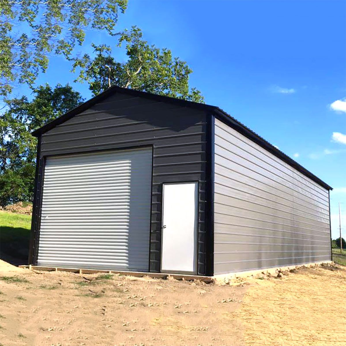 Shop Metal Carports Sheds And Garages Near Me Metal Carports Metal Rv Carports Steel Workshop