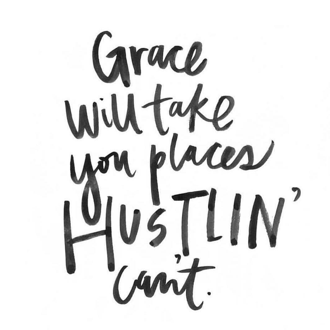 too much hustle and not enough faith means we miss the possibility too much hustle and not enough faith means we miss the possibility that be it s not