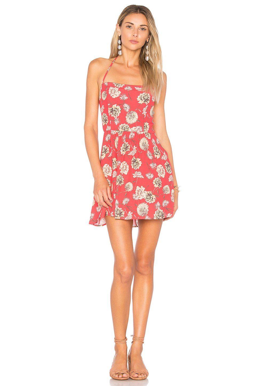 FLYNN SKYE Marissa Mini Dress in Floral Fireworks | REVOLVE