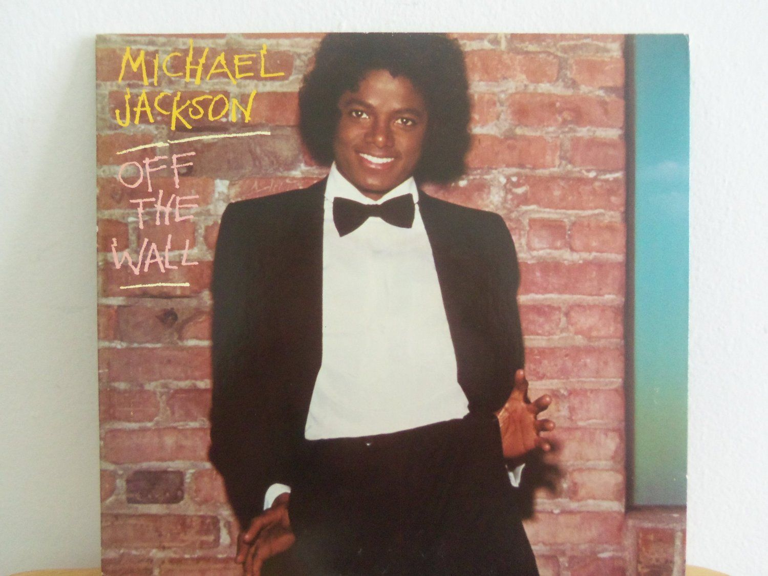 Michael Jackson Off The Wall 1st Solo Album Lp The Original