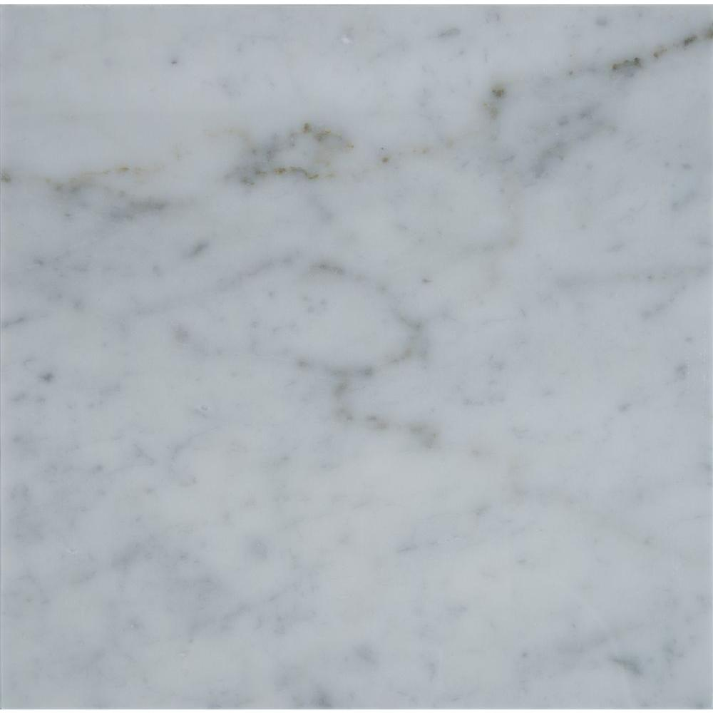 Ms International Carrara White 18 In X 18 In Honed Marble Floor And Wall Tile 13 5 Sq Ft Case Marble Floor Honed Marble Floor Polish Marble Floor