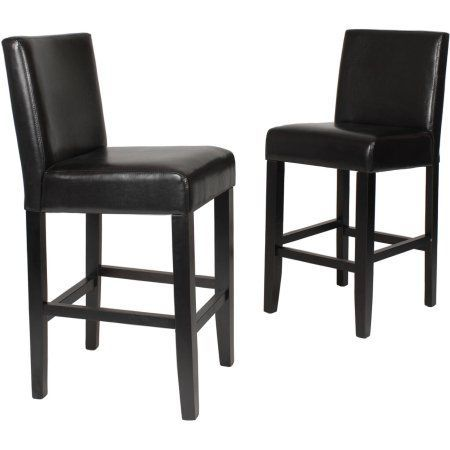 Roundhill Citylight Counter Height Barstool Set Of 2 Multiple Custom Walmart Kitchen Stools Inspiration