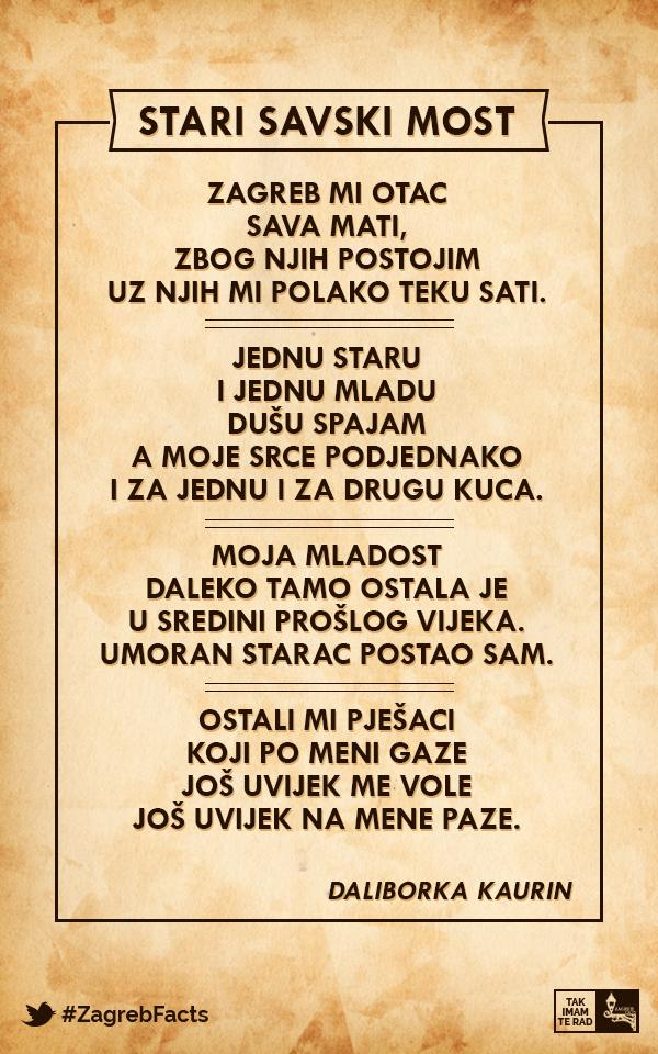 Jos Uvijek Me Vole Jos Uvijek Na Mene Paze Zagrebfacts Zagreb Zg Agram Starizagreb Savskimost Jadranskimost Sava Rij With Images Zagreb Croatia Zagreb Croatia