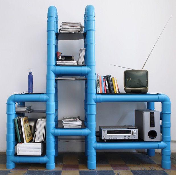 Muebles De Tubo en Pinterest  Plomería, Escritorio De Tubería y