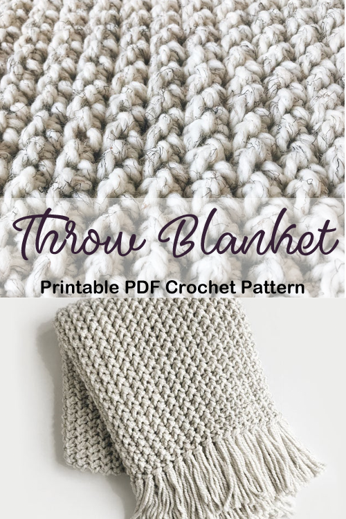 Make a Throw Blanket