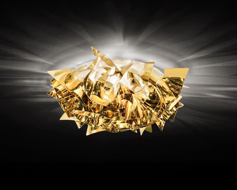 Slamp veli gold ceiling wall lamps nel 2019 luci e design