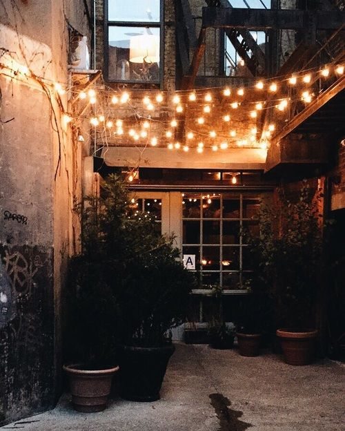 Patio lights can be a great addition to a restaurant entrance. #lighting & Patio lights can be a great addition to a restaurant entrance ...