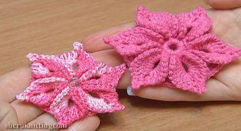 Puff Flower Crochet Pattern You Need To Learn   CrochetBeja