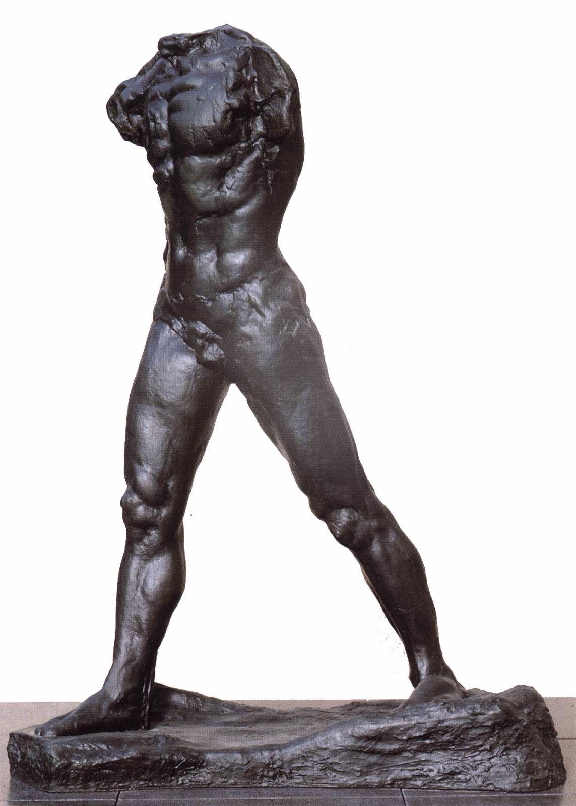 Auguste Rodin The Walking Man 1878 1900 Cast C 1903 Western Art History Renaissance To Modern Walking Man Rodin Sculpture