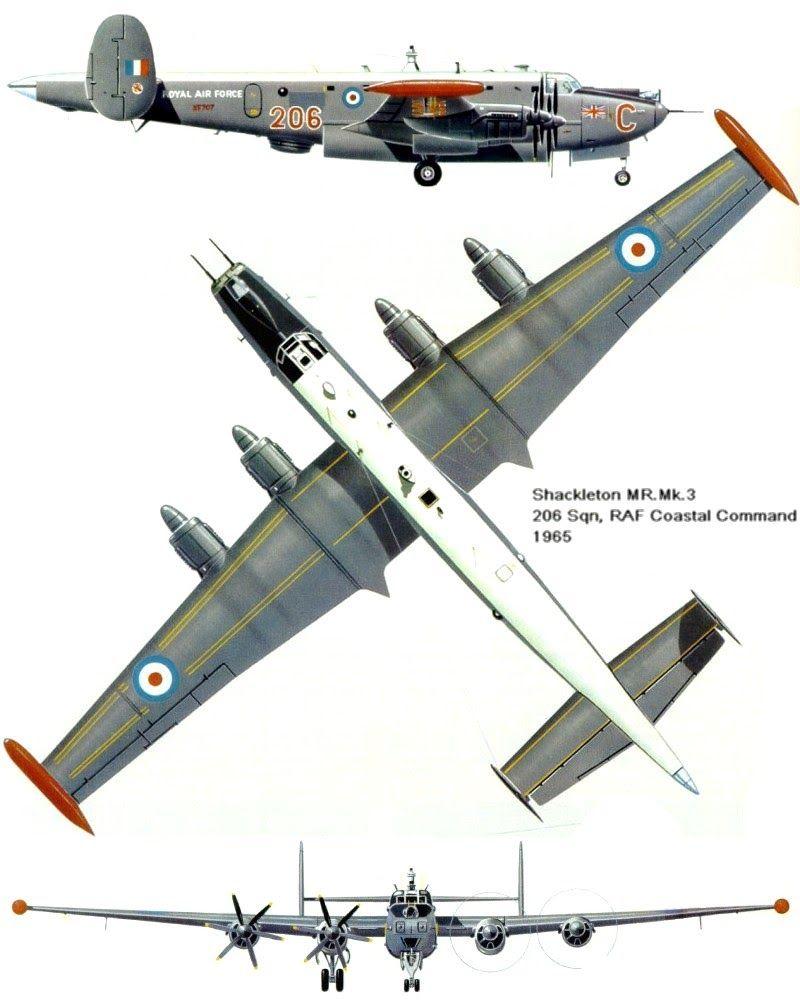 Avioes Militares Avro 696 Shackleton Aviao Militar Aviacao E