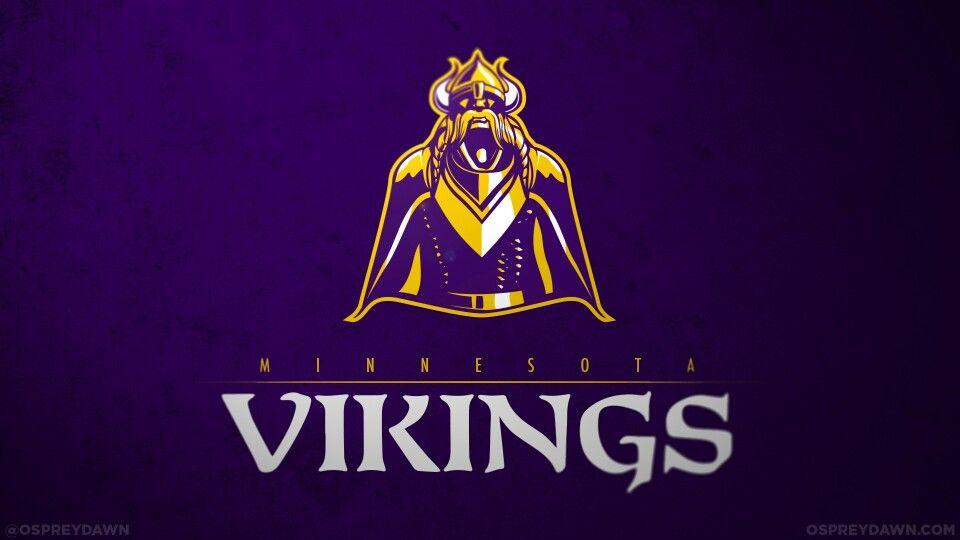 Vikings Concept Logo Minnesota Vikings Wallpaper Nfl Football Wallpaper Nfl Teams Logos
