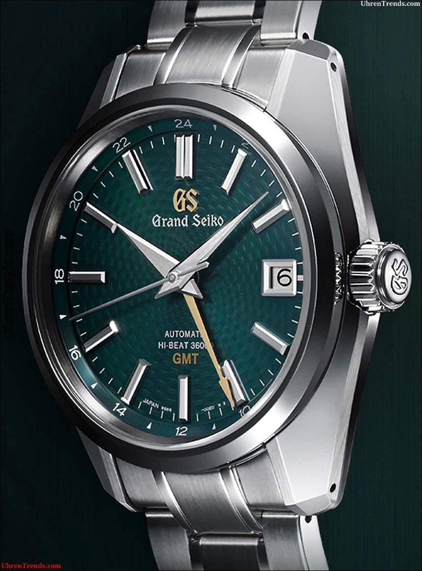 Grand Seiko Hi Beat 36000 Gmt Limited Edition Sbgj227 Uhr Bringt Das