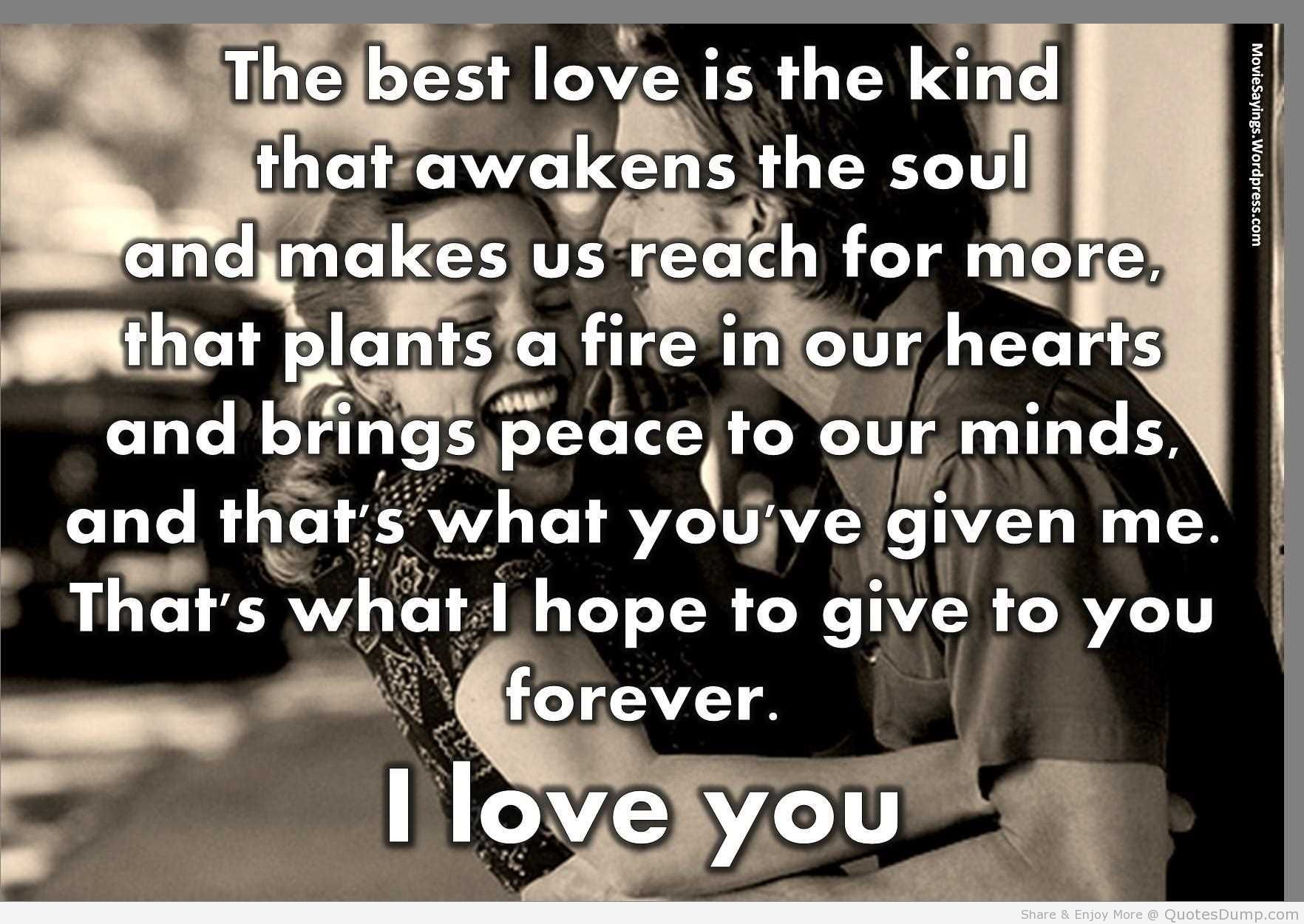 love Quotes from the notebook the Best kind of love