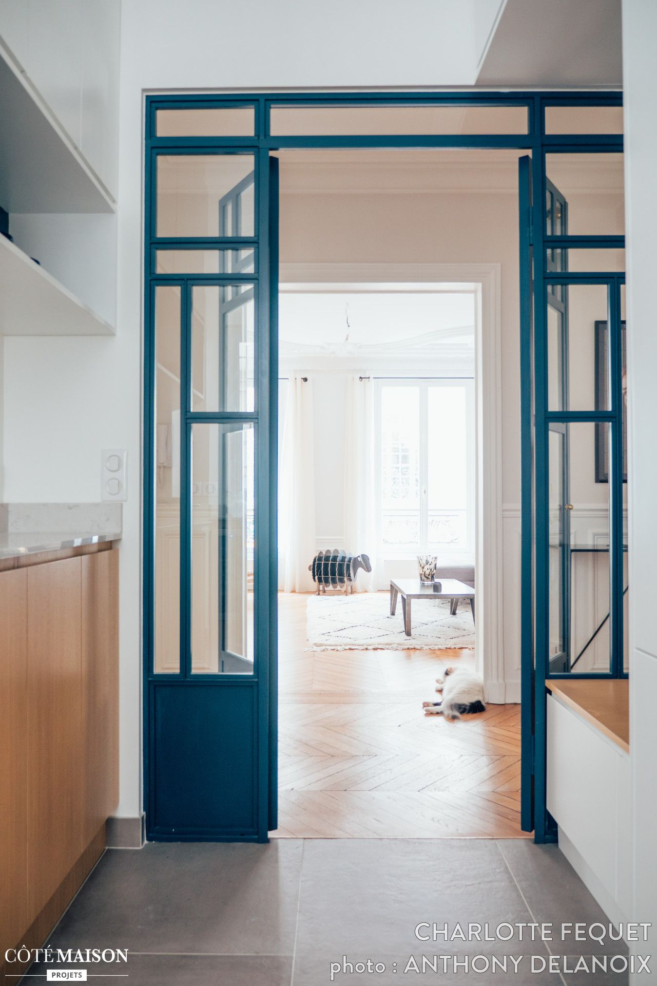 Eva et Grégoire. Rénovation d\'un appartement de 100m2 à Paris 17ème ...