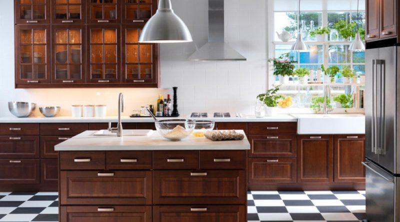 مطابخ ايكيا كتالوج دواليب مطابخ خشب ومستلزمات المطابخ 2019 قصر الديكور Kitchen Flooring White Wood Kitchens Patterned Kitchen Tiles