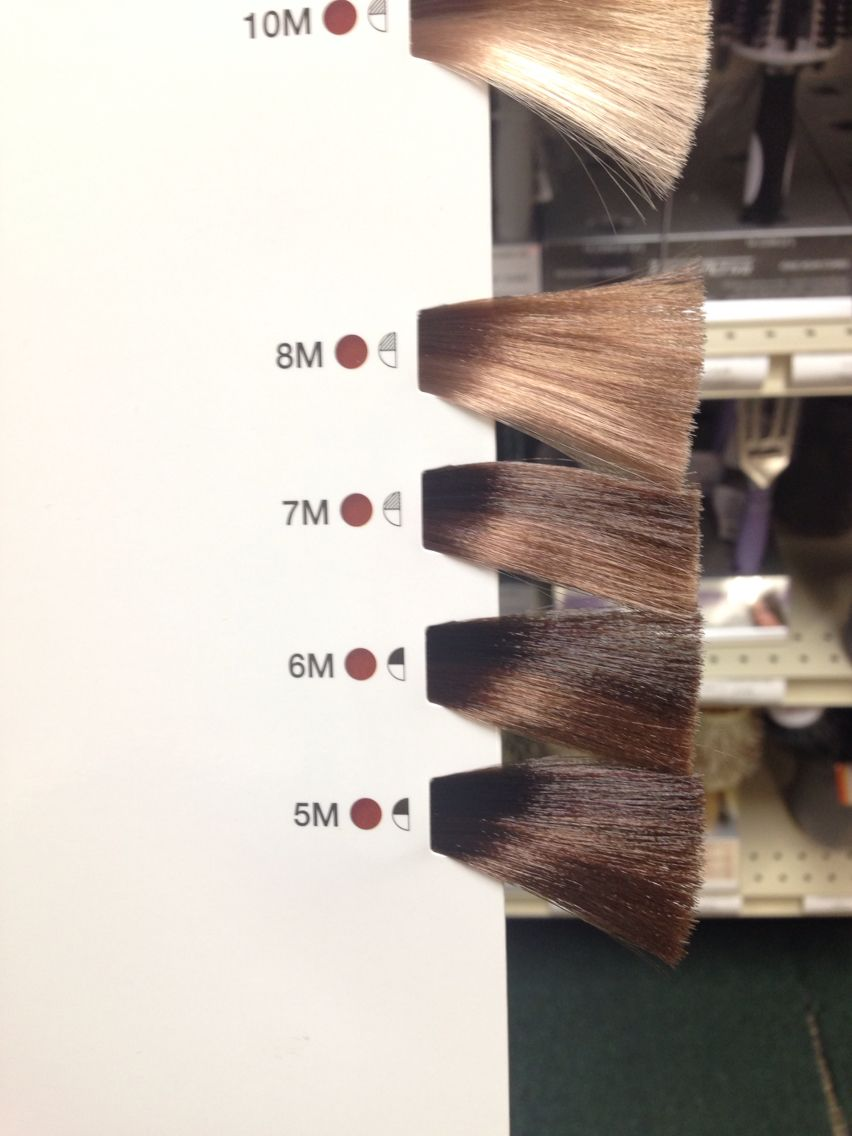 Matrix Color Sync Mocha Color Swatches Matrix Hair Color Mocha Hair Mocha Brown Hair Color