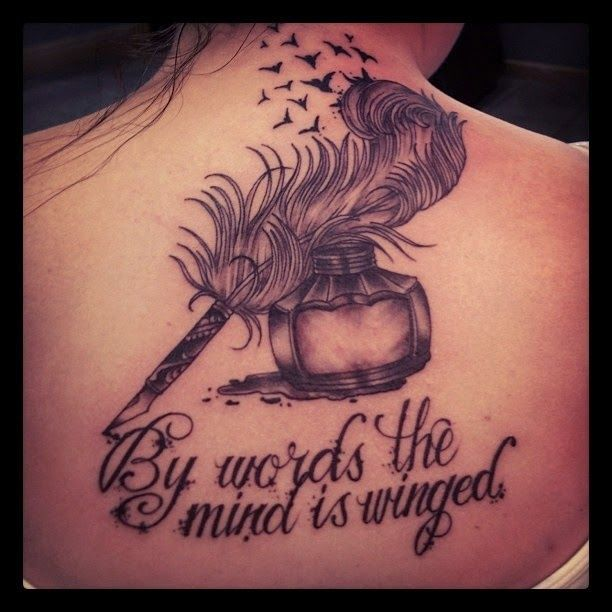 Tattoo Designs With Pen: Writer Tattoo Ideas - Google Search