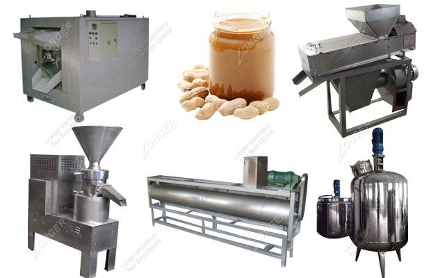 Hot Sell 100 kg/h Continuous Peanut Butter Production Line