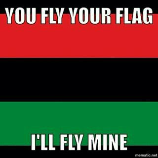 Panafrican Rbg My Flag Is Better Than Yours Blackpower Baby Black History Facts African American Flag History Quotes