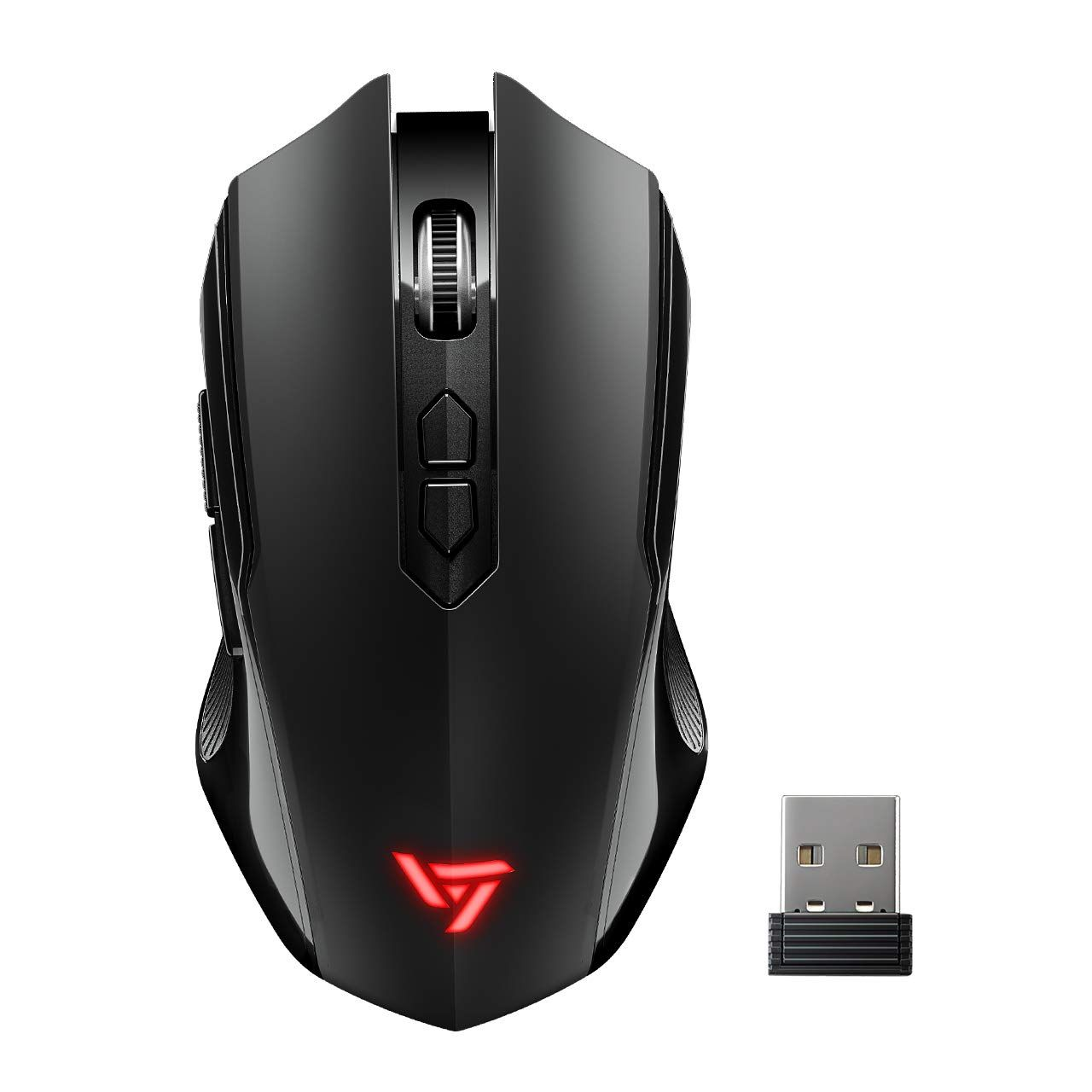 Victsing Wireless Gaming Mouse Unique Silent Click Portable