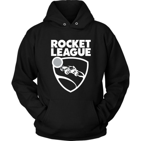 Rocket League Footballsoccer Driving Video Game Logo Black Hoody Game Printed T Shirt  Wish
