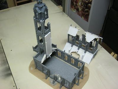 Ernestos Table Top Hobby Blog: When the last stone of the last church falls upon the last... and so on