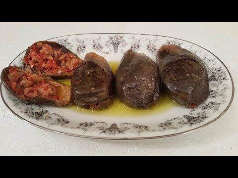 اسهل طريقة لعمل المكدوس Youtube Lebanese Recipes Cooking Cooking Recipes