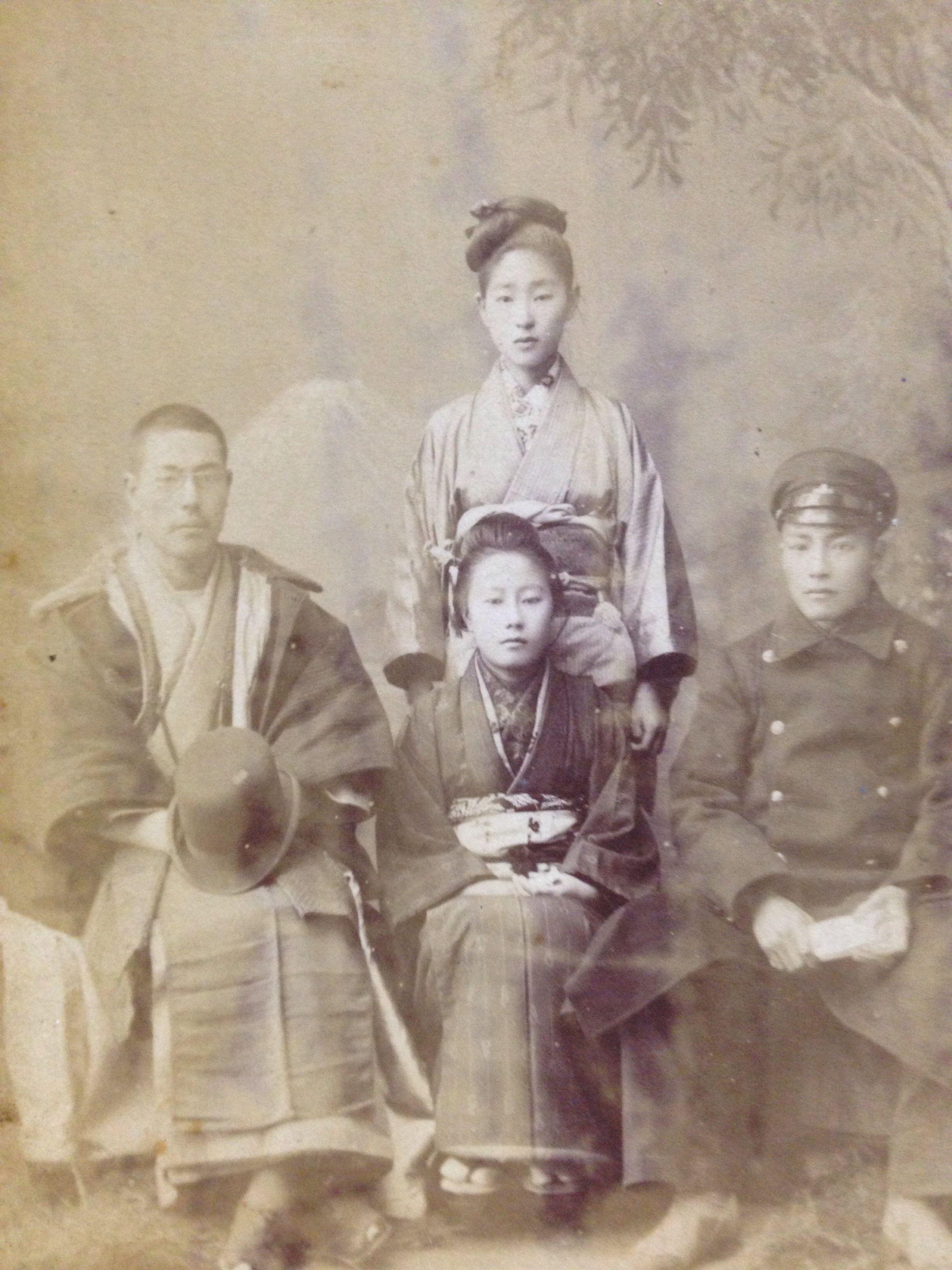 大正 明治期 家族写真 古写真 昭和時代 大正時代