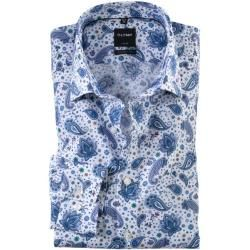 Photo of Olymp Luxor shirt, modern fit, New Kent, violet, 40 Olympus