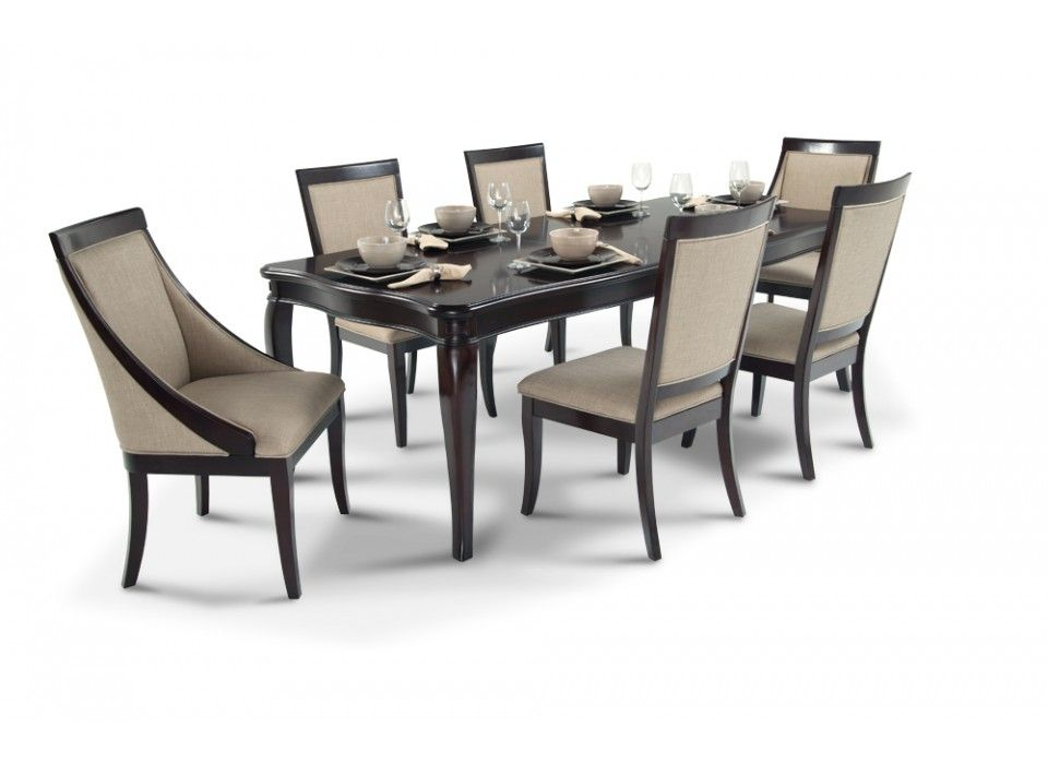 Gatsby 7 Piece Dining Set With Side Chairs Swoop