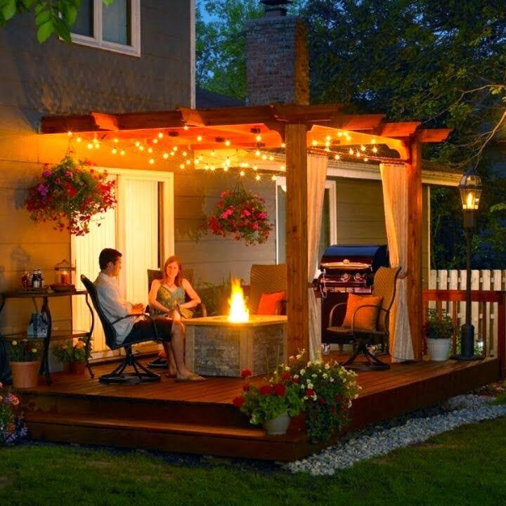 Dream Back Porch, Lovely Idea!! | backyard spaces | Pinterest ...