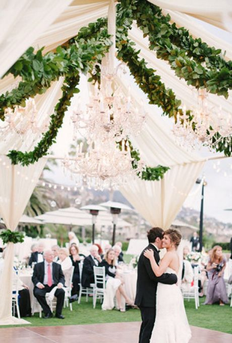 e65d52761f Hanging Greenery Installations for Your Wedding