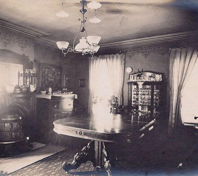 Victorian Era Dining Room: Historic Dining Rooms
