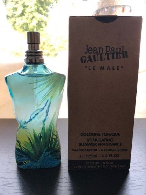 46.75   Le Male Jean Paul Gaultier Cologne Tonique Stimulating (TESTER) 4.2  oz 67f4db0676b