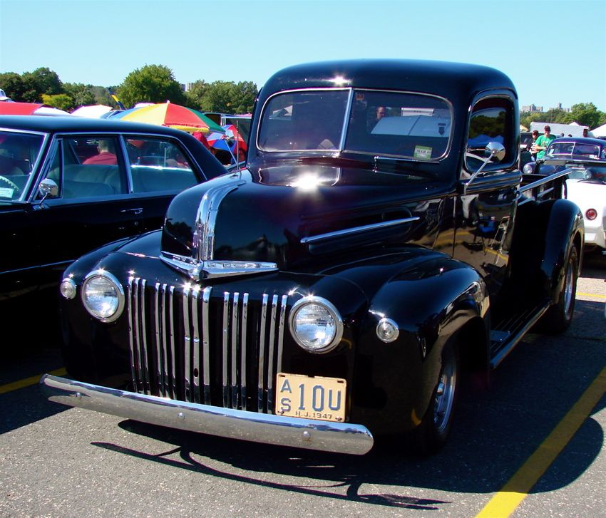 1947 Ford pickup truck at car show | old trucks | Pinterest | Ford ...