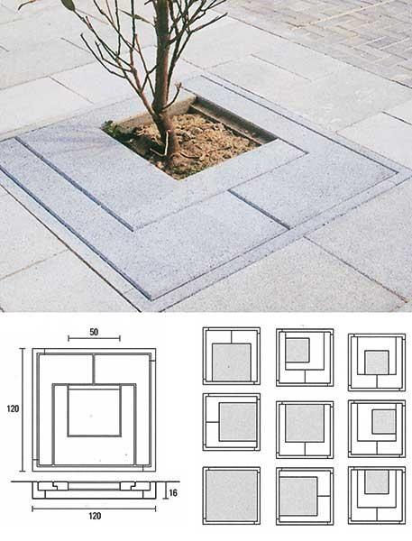 El alcorque se ajusta a la posición excéntrica del árbol. #arquitectura…