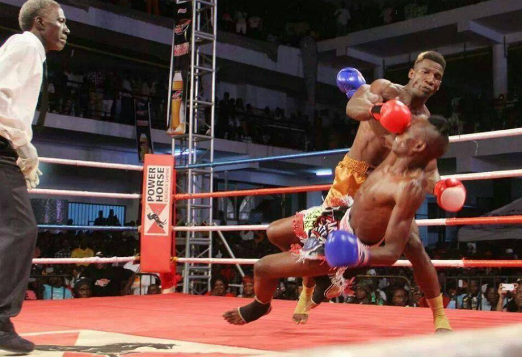 Moses Golola defeats Titus Tugume in Kickboxing Rematch