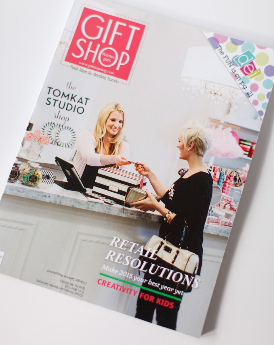 Gift Shop Magazine Feature | Magazines and Gift