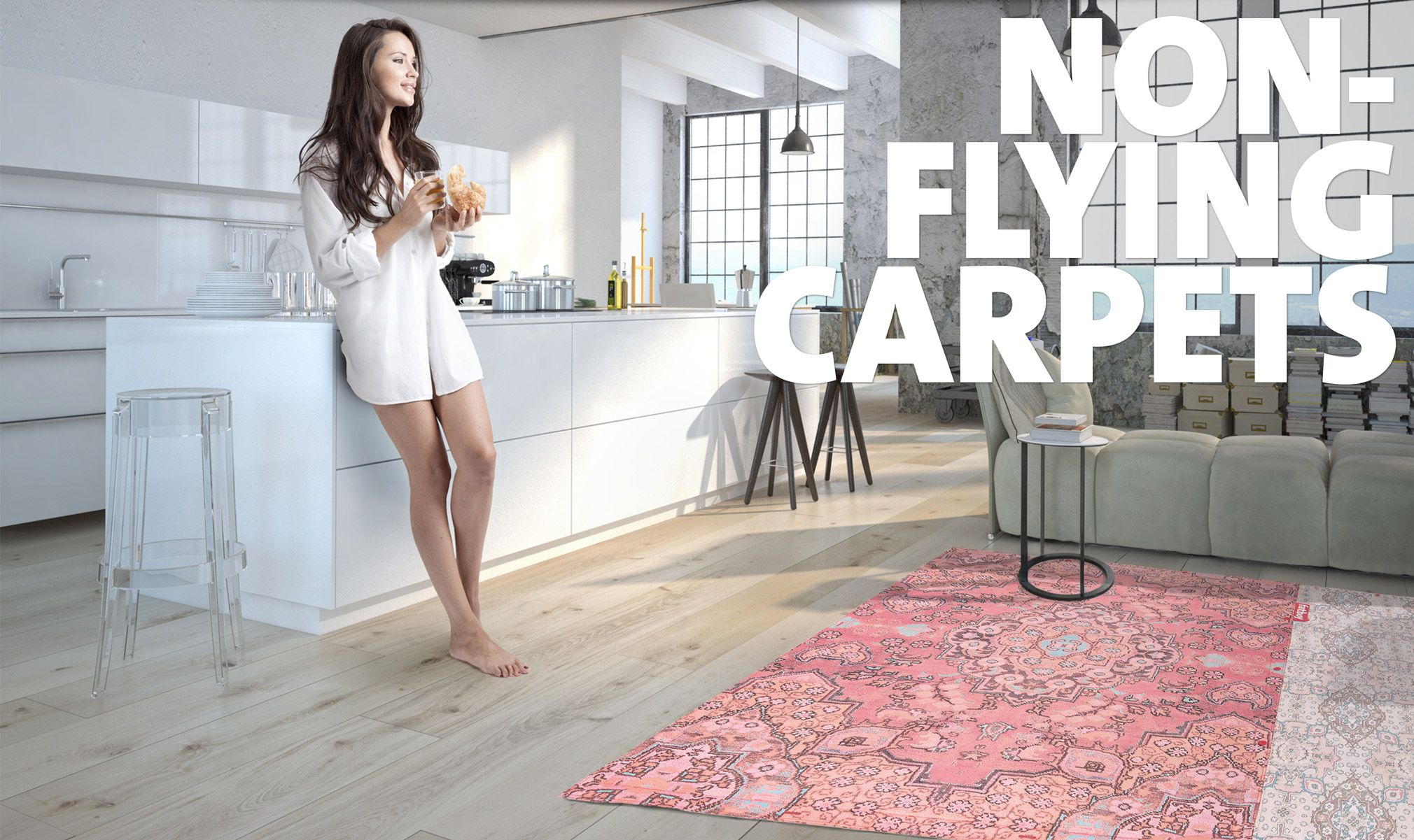 Fatboy Teppiche Non Flying Carpet Indoor Et Outdoor à Moduler Background