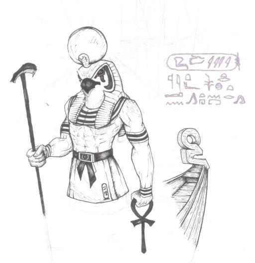 horus drawing - Google Search
